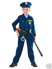 Police Officer Child Halloween Costume Size Large 12-14