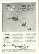 1953 vintage ad, Douglas, Skyraider, SkyKnight, & other Navy Aircraft.- 061213