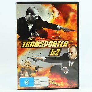 The Transporter + Transporter 2 Jason Statham 2-Disc Set DVD GC