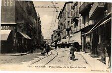 CPA Cannes .- Prespective de la rue d'antibes  (198504)
