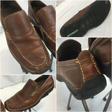 Cole Haan Driving Moccasins Shoes Sz 9 Brown Slip On EUC YGI G8
