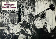 Der Glöckner von Notre Dame ORIG. Aushangfoto Charles Laughton / Maureen O'Hara