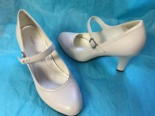 Apostrophe High Heel Granny Shoes Size 7