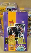 1993-94 TOPPS BASKETBALL SERIES 2 HOBBY BOX 36 PACKS (UNOPENED, FACTORY SEALED)