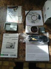 Canon PowerShot Digital ELPH SD1300 IS 12.1 MP Digital Camera - Silver Tested