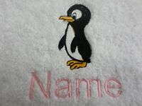 Cactus Design and NAME of choice embroidered on Towel Bathrobes Hooded