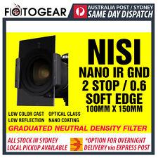 NISI IR GND 0.6 Soft Edge 100mm x 150mm Optical Glass Graduated ND Filter LEE