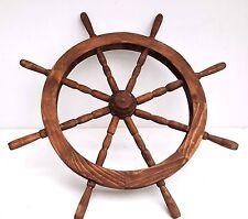 68cm 8 spoke ship's wooden Wheel Ornamental Reproduction Home Garden Decoration