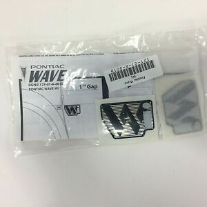 PONTIAC Wave Wi Side Emblem OEM DGN # 121-07-A-001B New Unopened Genuine