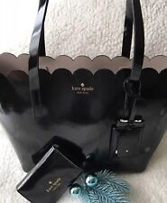 Kate Spade Lily Avenue Carrigan Small Black Tote And Wallet Both NEW With Tags