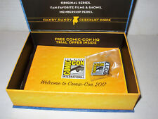 SDCC 2017 Welcome to Comic Con Box + Pin * Brand New in Original Box Mint