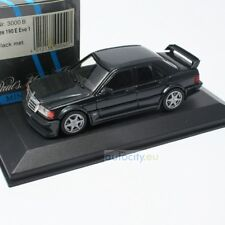 MINICHAMPS MERCEDES-BENZ 190 E EVO 1 STREET BLUE BLACK METALLIC BNR03000B