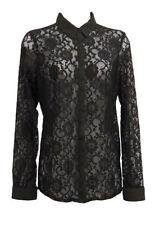 Camisas y tops vintage de mujer de color principal negro