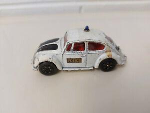 Corgi Toys Whizzwheels - Volkswagen 1200 Saloon Police Car - No.373