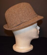592f822222f VTG Men s STETSON Wool Tweed Fedora Hat Size 6 7 8 Tom Landry 100%