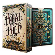 Royal Pulp Deck - Green - Playing Cards - Magic Tricks - New
