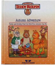 Der Herbst Abenteuer von Phil Baron (1986, Hardcover) die Abenteuer von Teddy Rux