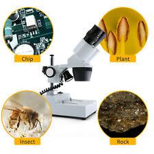 Swift 20x40x Magnification Binocular Stereo Microscope Widefiled Lighting