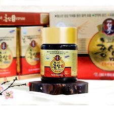 Korean Red Ginseng Extract 100% PURE Gold 6Years Panax Saponin Ginsenosides 100g