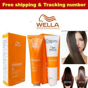 WELLA WELLASTRATE Permanent Straight System Hair Straightening Cream # MILD C/S