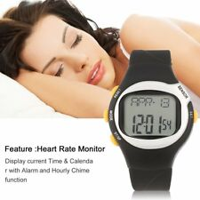 Men Women Pulse Heart Rate Monitor Wrist Watch Calories Counter Sports Fitness