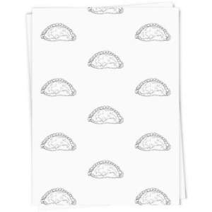 'Cornish Pasty' Gift Wrap / Wrapping Paper (GI012240)
