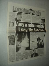 A134 AMY WINEHOUSE  '2007 ENGLISH CLIPPING