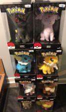 8- Rare Pokémon Toys R Us TRU Plush Umbreon Espeon Vaporeon Jolteon Sylveon +++