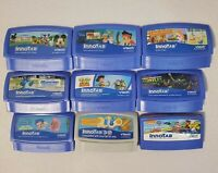 Lot of 9 Vtech Innotab Game Cartridges Toy Story, TMNT, Monsters U, Dora, More