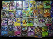 Pokemon Card Lot 100 Official Tcg Cards (Includes 1 Gx,Ex,Mega,V,Vmax and Holo)