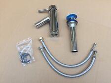 Wasserhahn inkl. Abfluss Badarmatur Armatur Badezimmer Waschbecken