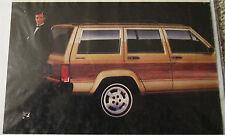 1984 AMC Jeep Wagoneer ad
