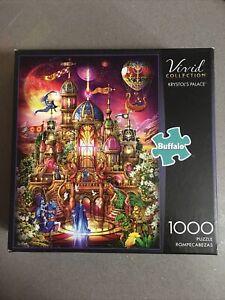 Buffalo Games - Krystol's Palace - 1000 Piece Jigsaw Puzzle