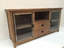 2-türige Real Wood Teakwood Metal Dresser Sideboard Pintu With