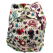 New Reusable Unisex Modern Cloth Nappies Unisex Baby Diaper Nappy Nappies (D157)