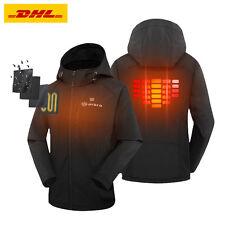 ORORO Women's Slim Fit Heated Jacket Battery Motorcycle Coat Skiing Hunting Warm