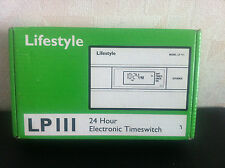 LIFESTYLE LP111 24 HOUR  ELECTRONIC TIMESWITCH