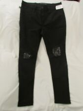 "Ladies ""Rock & Republic"" Size 12M, Black, Kashmiere, Destroyed, Skinny, Leggings"