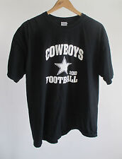 Roswell Youth Football League Cowboys Navy Blue Center Star Mens T-shirt Size XL