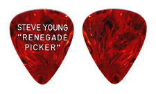 Steve Young Signature Renegade Picker Brown Guitar Pick - 1976 Tour