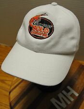 """""""SOLO CAMARON SHRIMP ONLY"""" HAT. FROM COST RICA WHITE. SLIDE CLASP ADJUSTABLE!!!"""