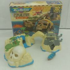 1996 Micro Machines Exploration Lost Treasure Lagoon Complete w/ Box RARE