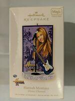 Hallmark Keepsake Hannah Montana Christmas Ornament Plays Music 2006