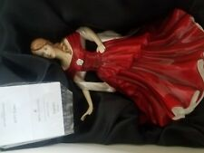 Royal Doulton SCARLETT Pretty Ladies HN5437 Figurine Hand signed In Box