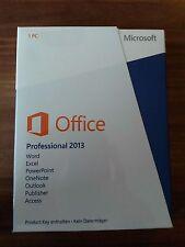 Microsoft Office 2013 professional versione completa// italiano/PKC/269-16149 NUOVO