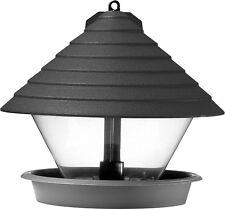 Hammarplast 9325409 Vogelfutterhaus schwarz 27cm Kunststoff Rund(schwarz)