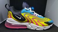 Nike Air Max 270 React ENG CD0113-400 Multi color Mens Running Shoes