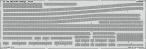 EDUARD 1/350 SHIP- MUSASHI RAILINGS FOR TAM | 53134