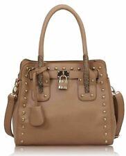 New Ladies Celebrity Studs Shoulder Bag Womens Fashion Tote Hobo Satchel Handbag