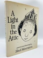 A Light in the Attic – Stated FIRST EDITION – 1st Print – Shel SILVERSTEIN 1981